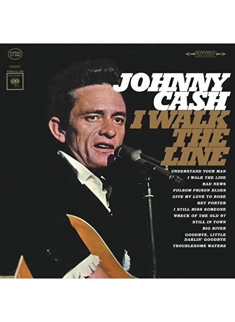 Sony Music Johnny Cash-i Walk The Line Renkli